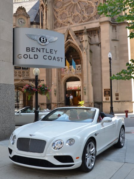 2016 Bentley Continental GTC V8