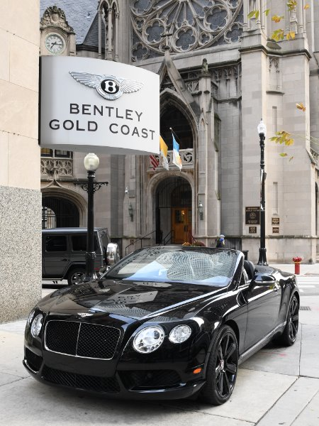 2013 Bentley Continental GTC V8 GT V8